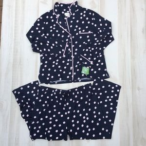 Kate Spade Polka Dot Pajamas NWT